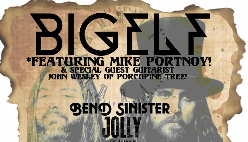 Mike Portnoy and John Wesley to join Bigelf for upcoming tour dates