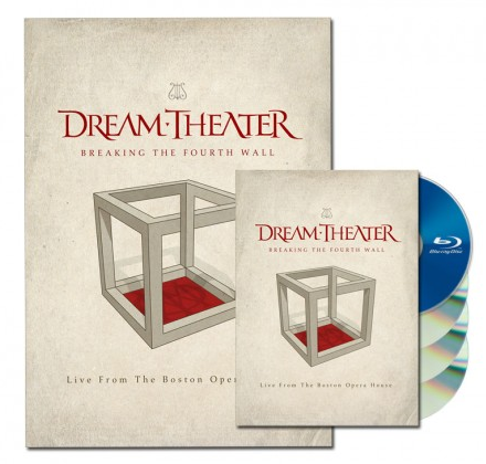 "Dream Theater release official video for ""The Looking Glass"" (Live from the Boston Opera House)"