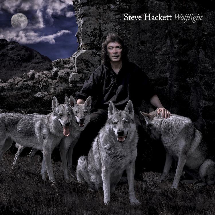 "Steve Hackett reveals ""Wolflight"" artwork and release date"