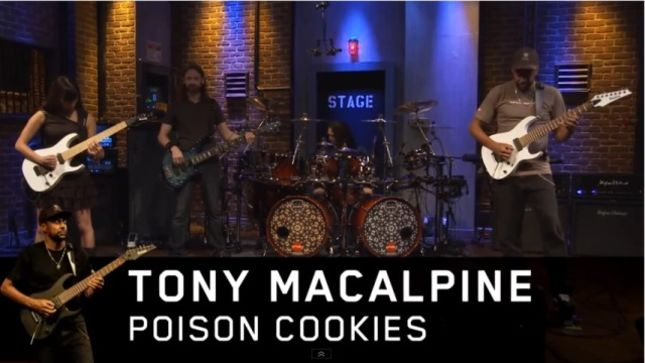 Tony MacAlpine releases live performances of new album Concrete Gardens