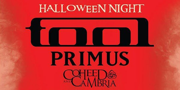 Tool, Coheed, and Primus to play Festival