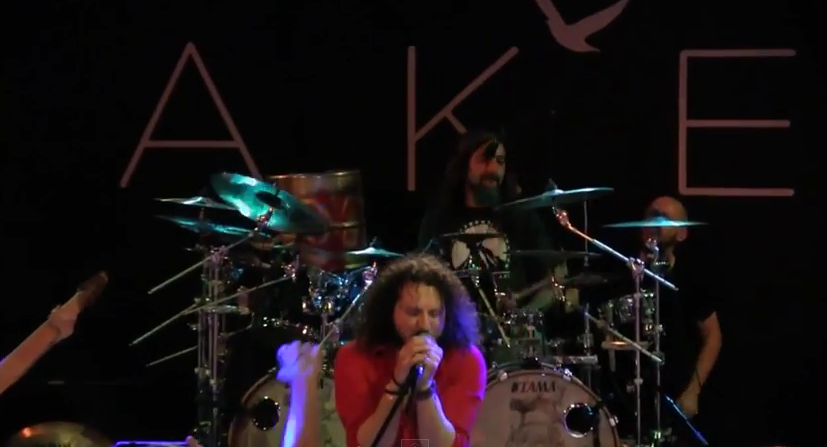 "Haken perform ""The Mirror"" with Mike Portnoy and ""Fade To Black"" with Max Portnoy"