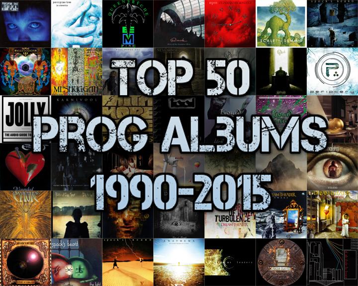 Top 50 Prog Albums 1990-2015