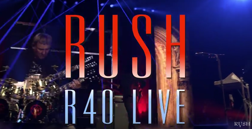 Rush release trailer for upcoming R40 Live DVD set
