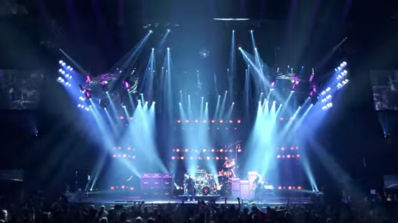 "Rush release ""Closer to the heart"" live clip"