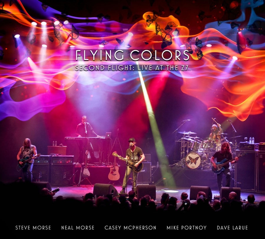 Stream Flying Colors' new live album 'Second Flight: Live at the Z7'