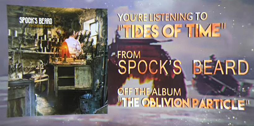 Spock's Beard – Tides of Time (Lyric Video)