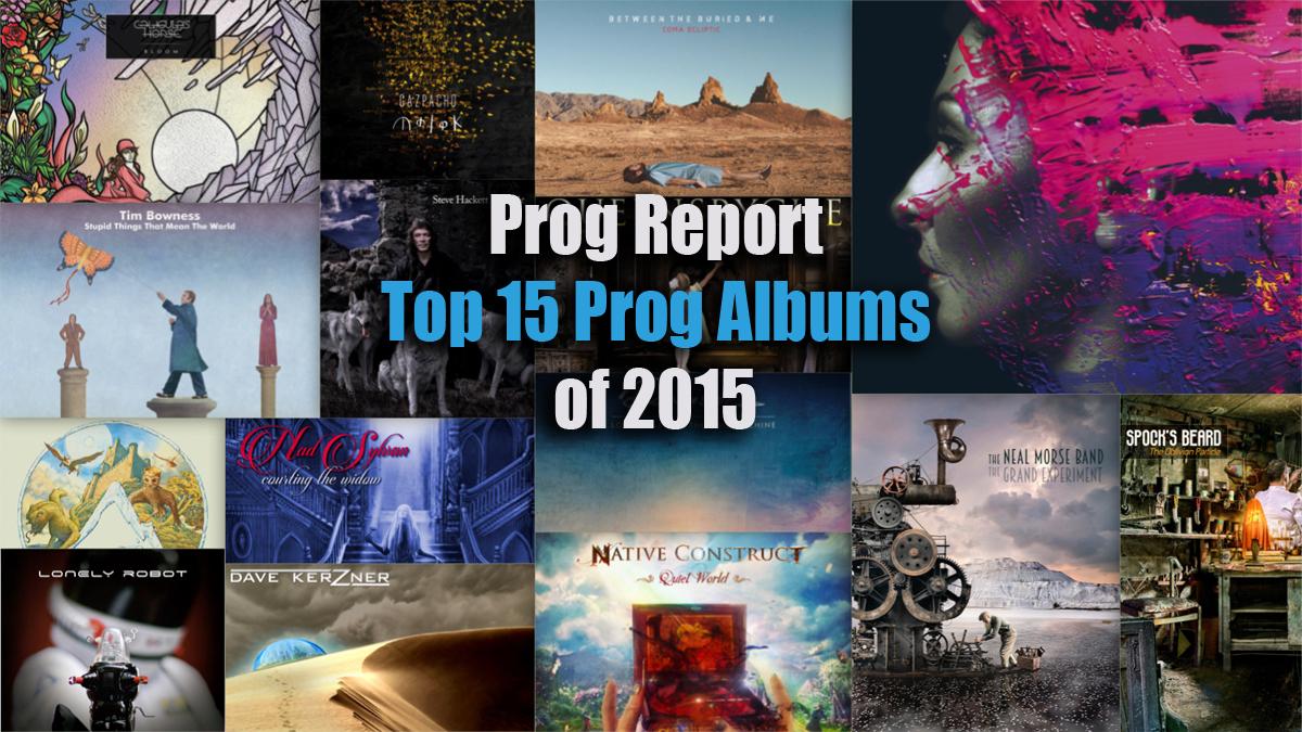 Top 15 Prog Albums of 2015