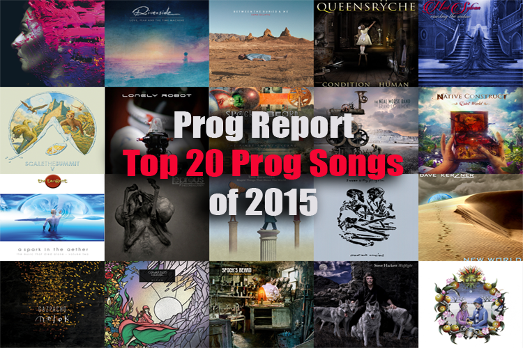 Top 20 Prog Songs of 2015