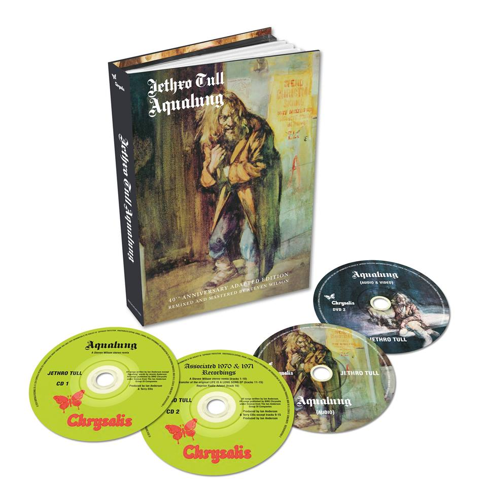 Jethro Tull to release Aqualung box set
