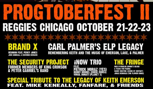 Progtoberfest to feature impressive lineup with Brand X, Carl Palmer and Keith Emerson Tribute