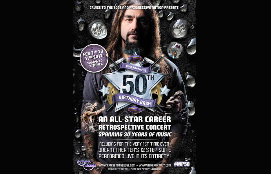 Mike Portnoy – Cruise to the Edge Artist Feature #20