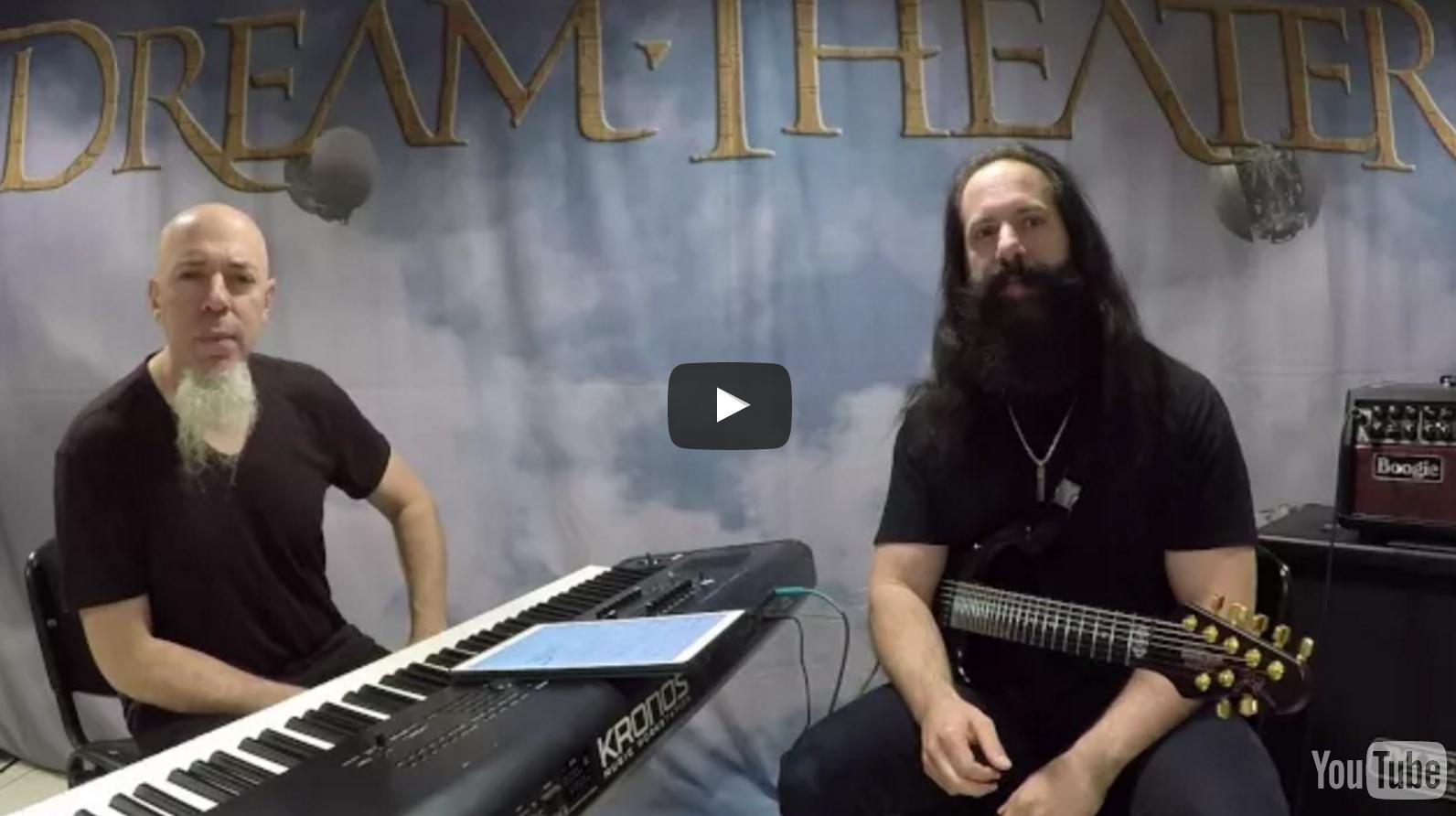 John Petrucci and Jordan Rudess behind the scenes on The Astonishing