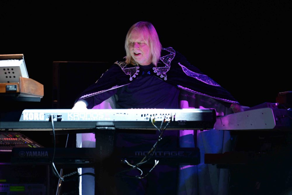 Anderson, Rabin and Wakeman perform at Hard Rock Live held at the Seminole Hard Rock Hotel & Casino.