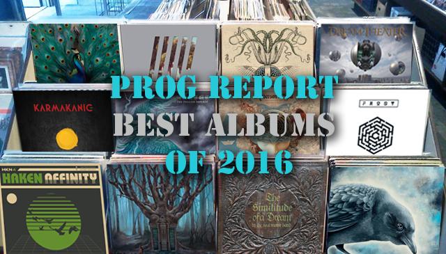 Best Prog Albums of 2016