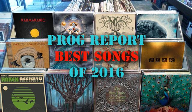 Best Prog Songs of 2016