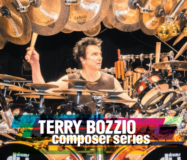 "Drum Legend Terry Bozzio's ""Composer Series"" The Music & Art of Terry Bozzio Now Available in North America & Europe"