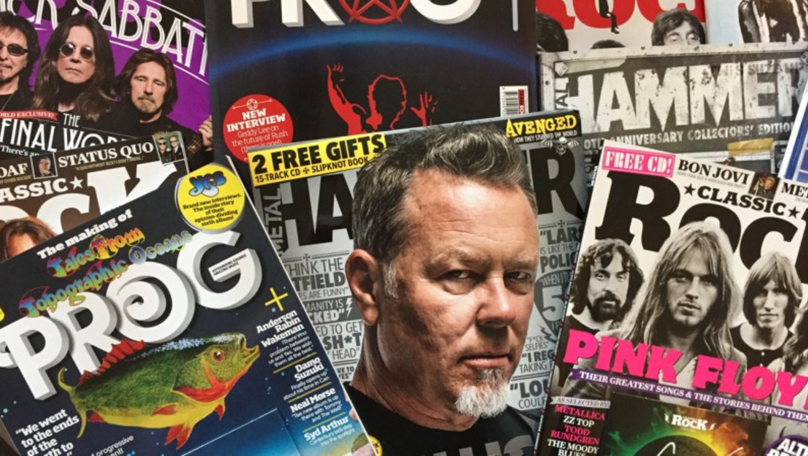 Future Publishing buys Prog, Classic Rock & Metal Hammer