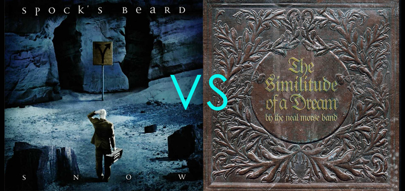 Album vs Album: Snow vs The Similitude of a Dream