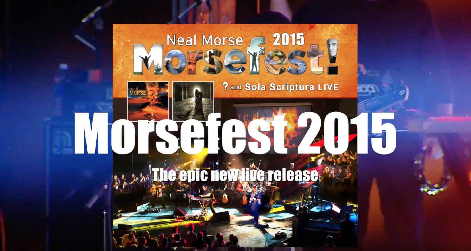 Morsefest 2015 to be released on CD/DVD and Blu-Ray