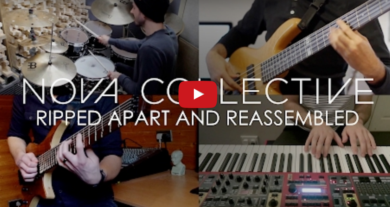 "Nova Collective ""Ripped Apart and Reassembled"" (FULL BAND PLAY THROUGH)"