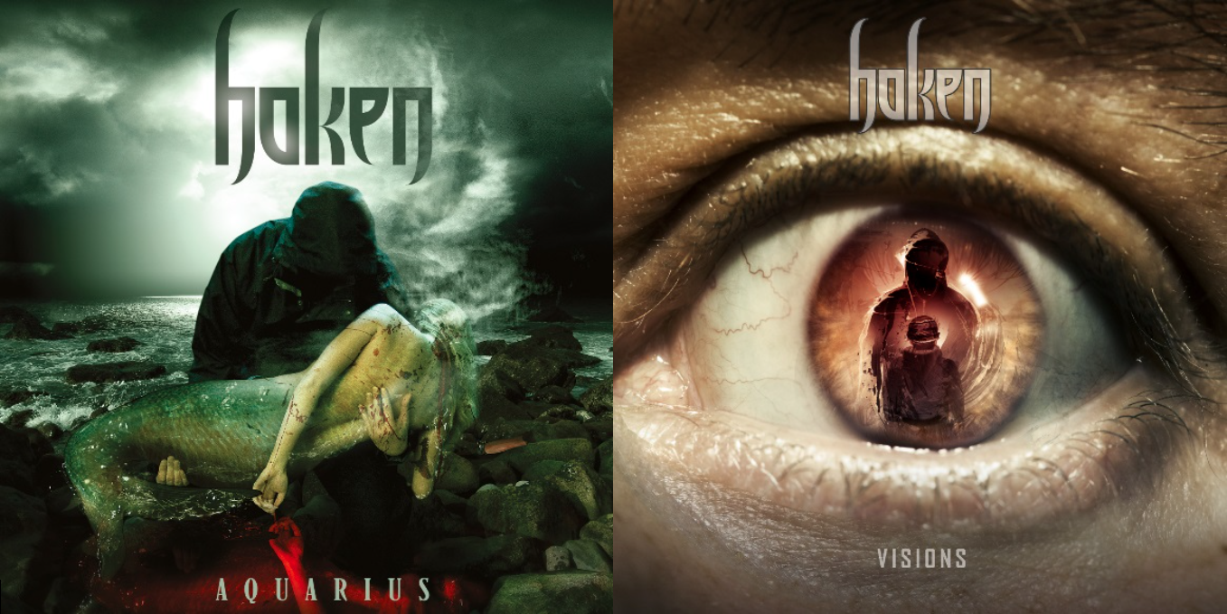 Haken reissue first 2 albums 'Aquarius' and 'Visions'