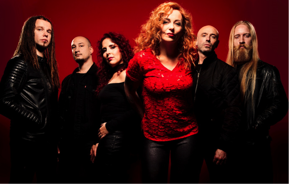 Anneke van Giersbergen's VUUR Share Behind-the-Scenes Video of Debut Album Recording