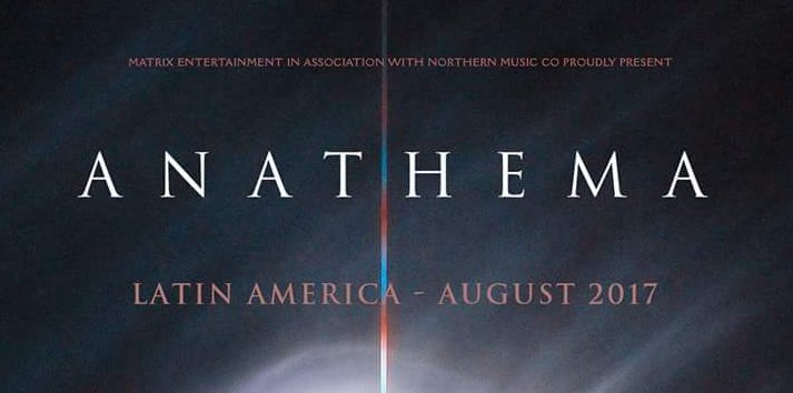 Anathema announce summer Latin America dates