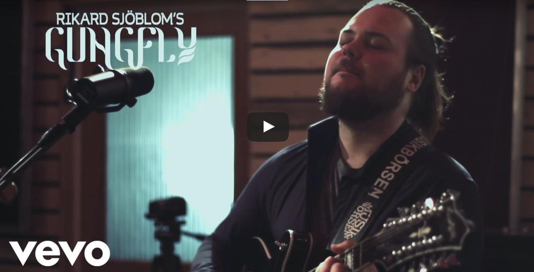 "Rikard Sjöblom's Gungfly – ""On Her Journey To The Sun"" (Official Video)"
