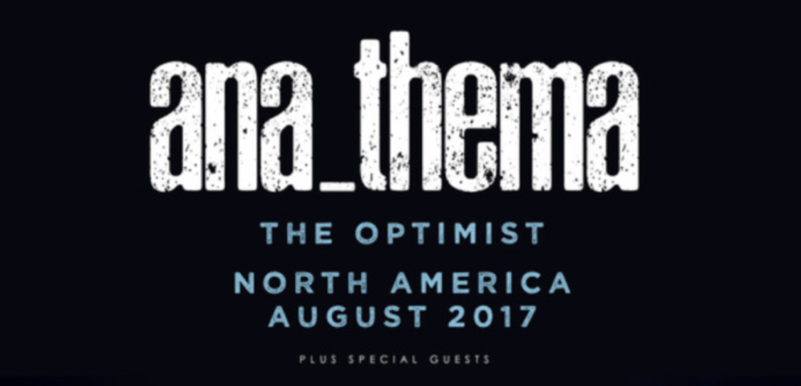 Anathema release North American tour dates