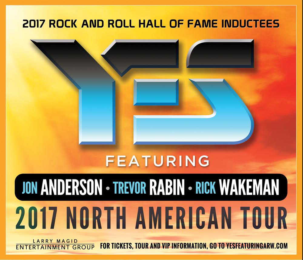 Yes featuring ARW announce North American Tour