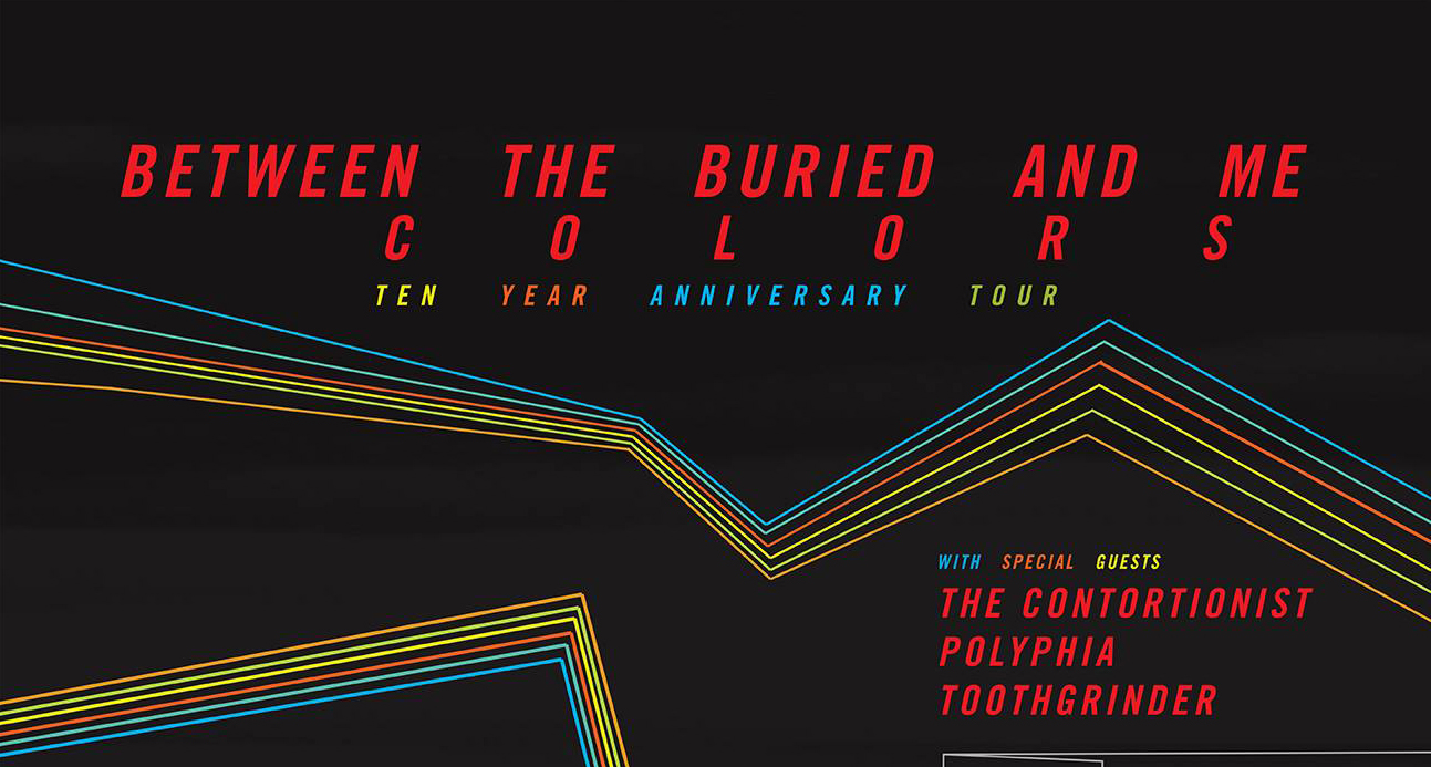 Between The Buried And Me announce tour to celebrate 10th Anniversary of Colors