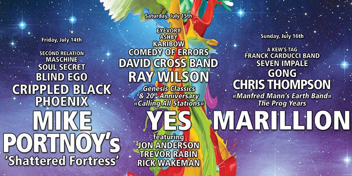 Marillion replace Kansas for Night of the Prog festival