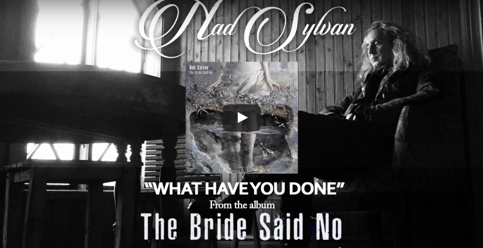 Nad Sylvan new single with solos from Steve Hackett and Guthrie Govan