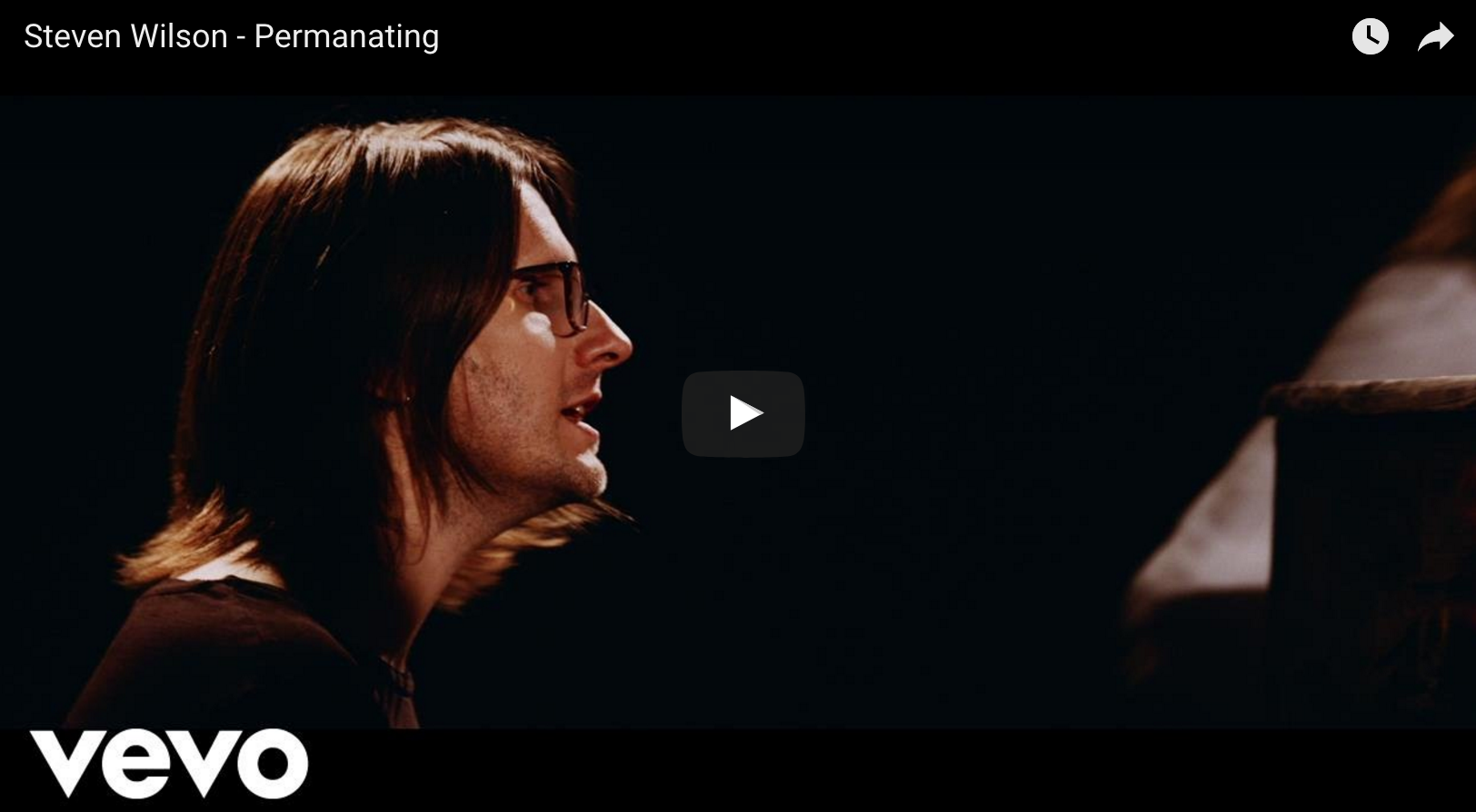"Steven Wilson ""Permanating"" (Official Video)"