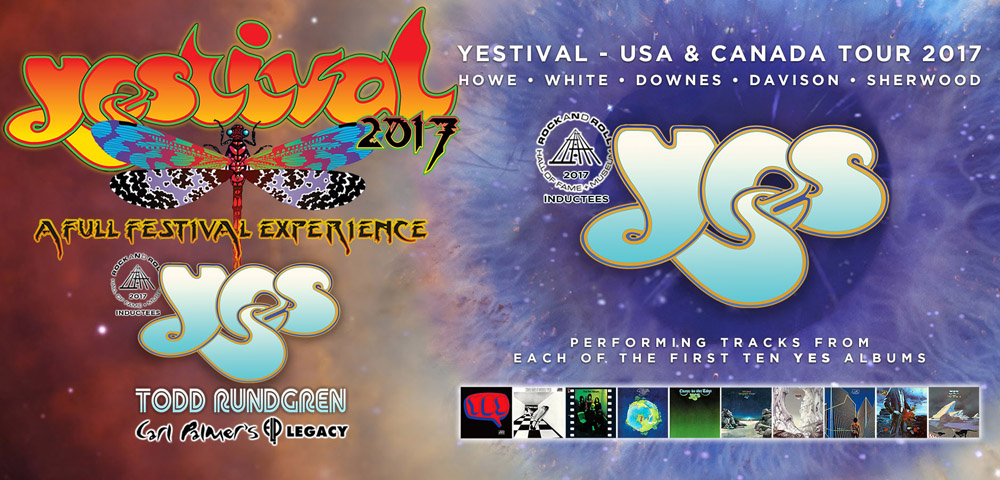 YES Announces Additional Dates For 2017 Summer Tour!