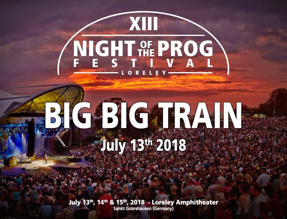 Big Big Train to play Night of the Prog 2018