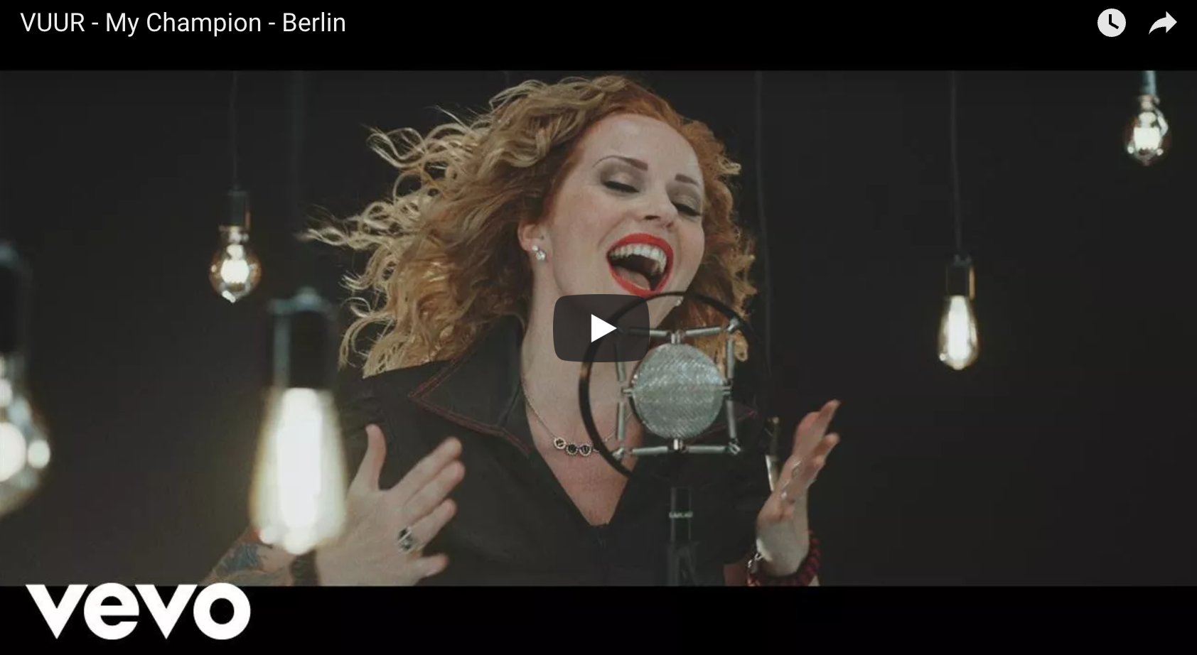 "VUUR – ""My Champion – Berlin"" (Official Video)"