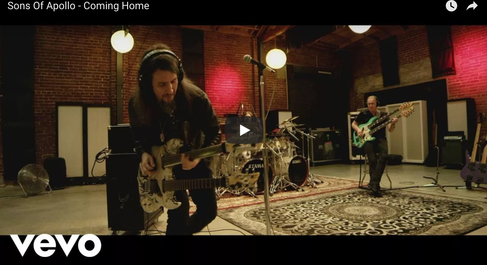 "Sons of Apollo release video for ""Coming Home"""