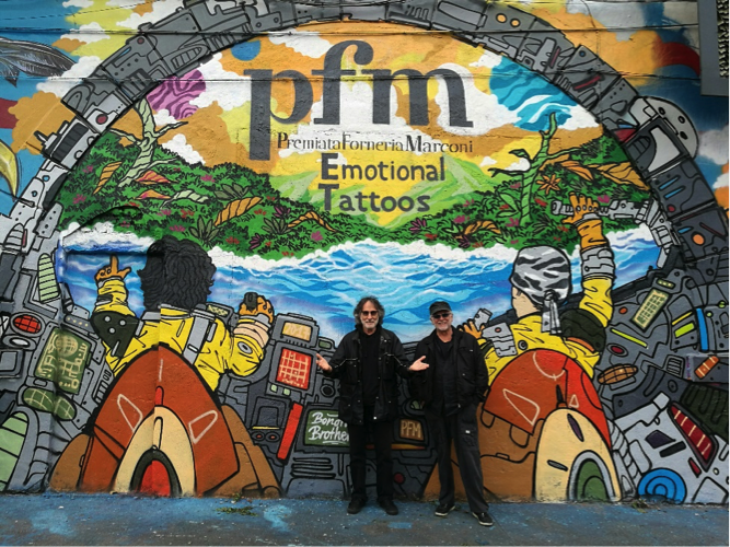 PFM release first single from new album in both English and Italian