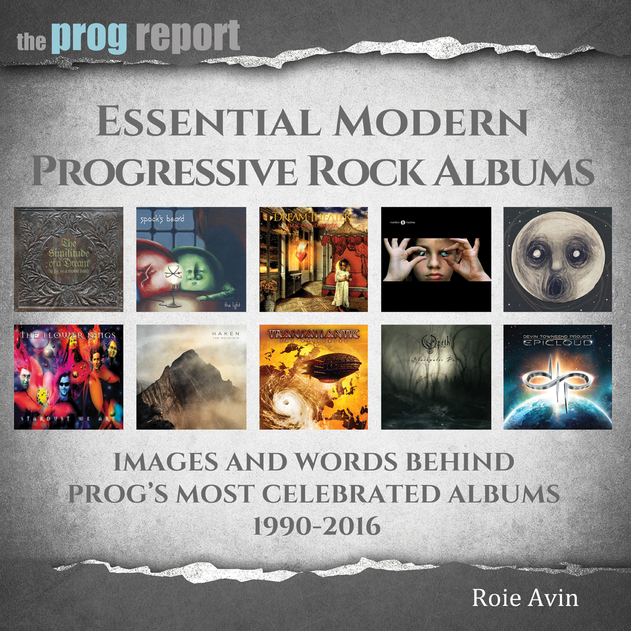 Order the new book 'Essential Modern Progressive Rock Albums' here!