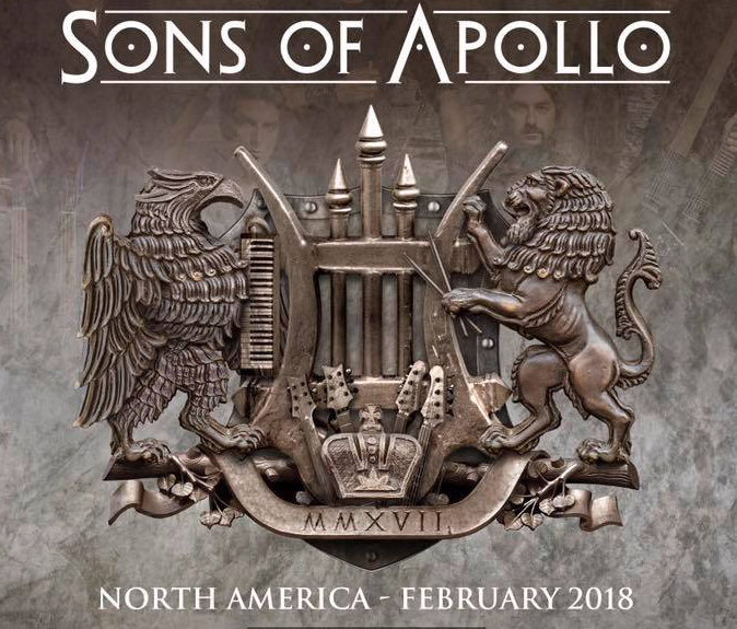 Sons of Apollo announce first string of tour dates for 2018