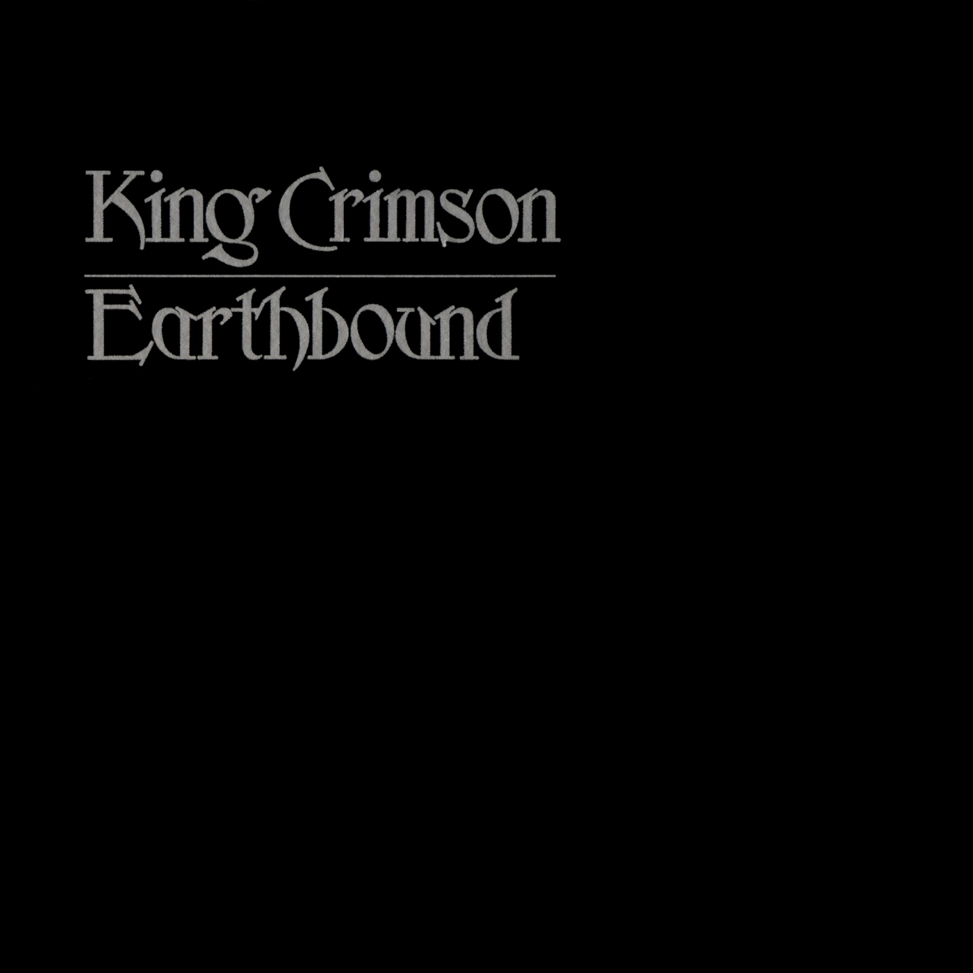 "King Crimson To Release ""Earthbound – 40th Anniversary Edition"" Expanded CD & DVD"