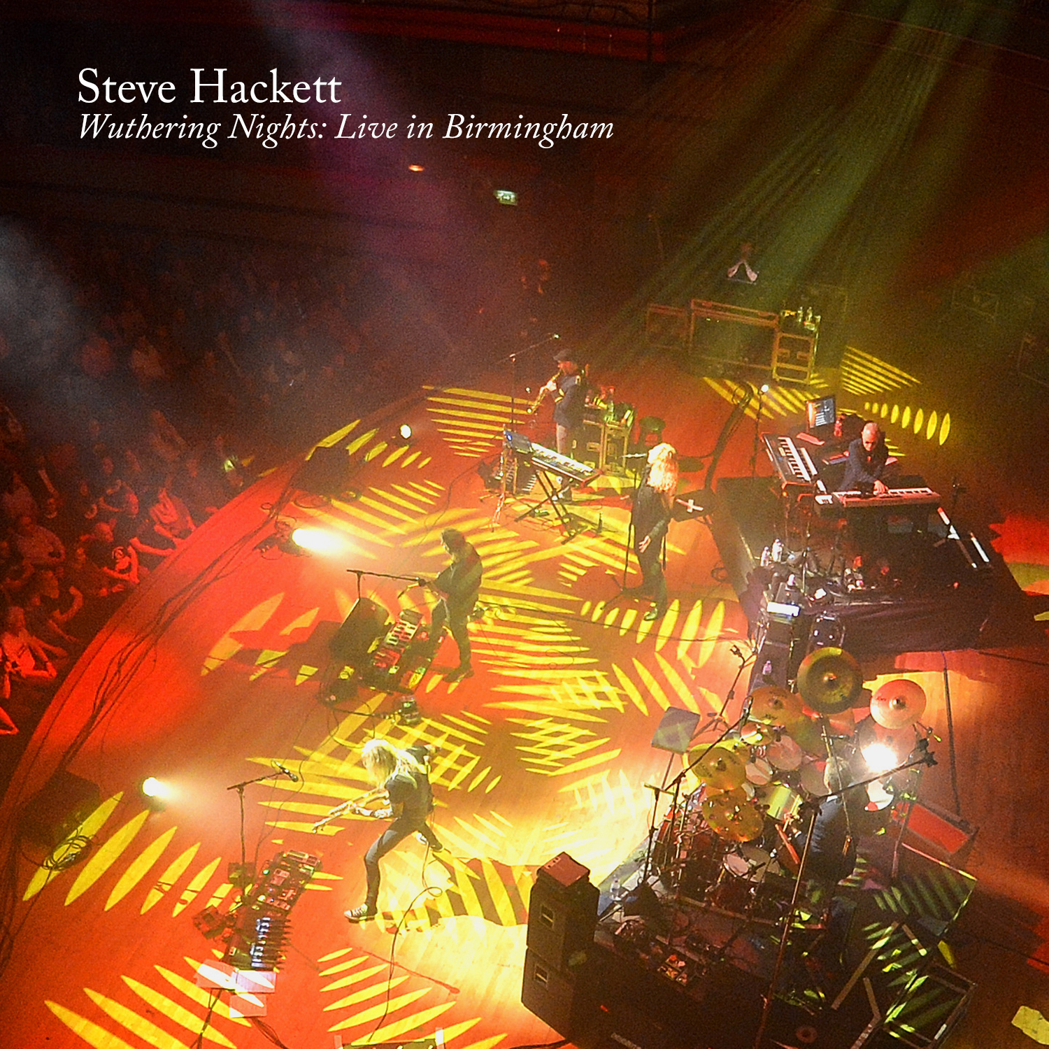 Steve Hackett announces new live album Wuthering Nights: Live in Birmingham