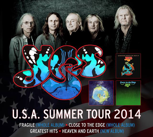 yes tour 1