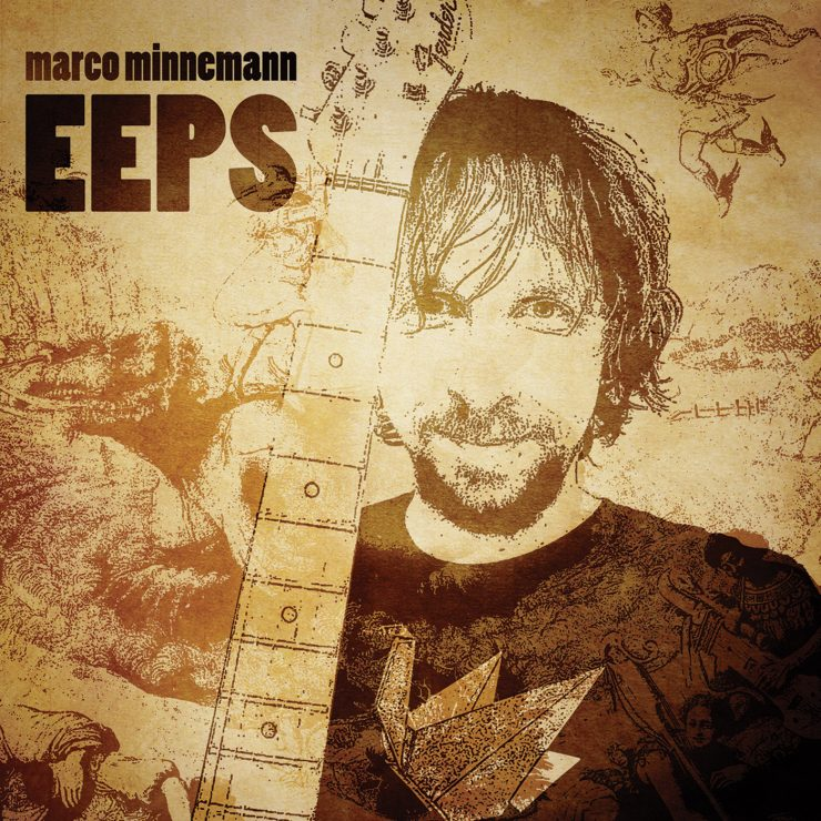 Marco Minnemann - Eeps CD Review - The Prog Report