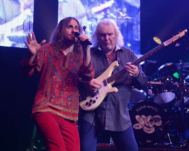 Yes performs at Hard Rock Live held at the Seminole Hard Rock Hotel & Casino.