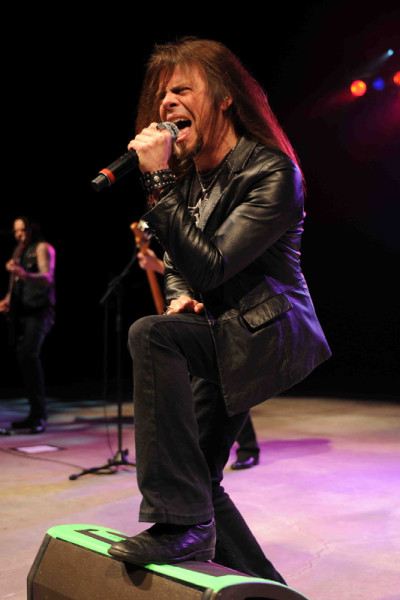 Queensryche perform at The Pompano Beach Amphitheater.