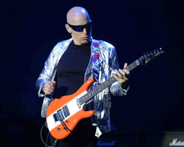 Joe Satriani performs at The Parker Playhouse.