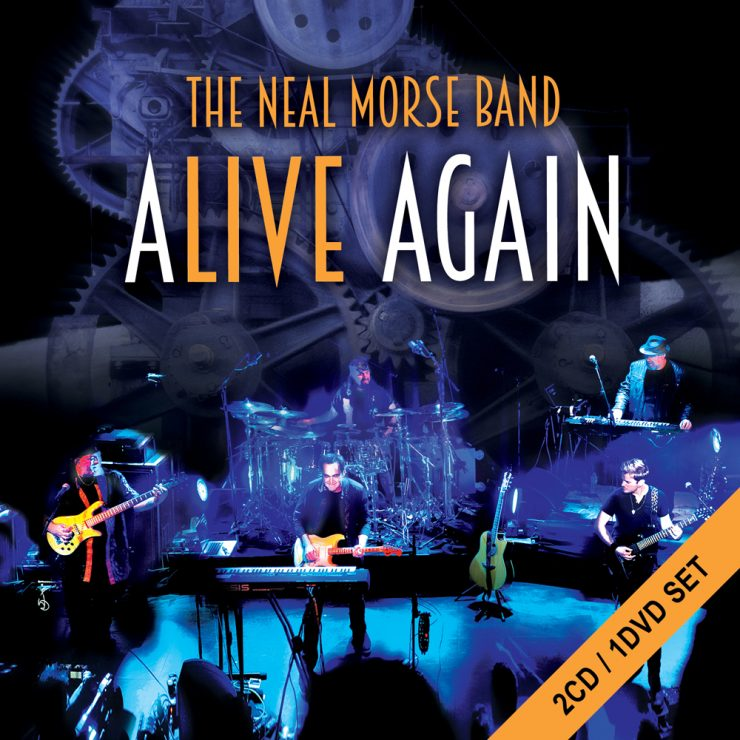 ALIVE AGAIN CD COVER